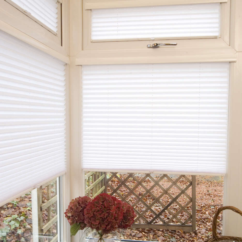 Pleated Blinds - Corner